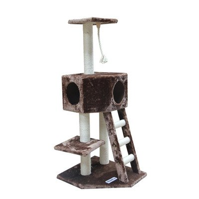 Kitty Mansions Vegas Cat Tree, Mocha