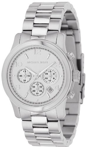 Women's Stainless Steel Quartz Chronograph Silver