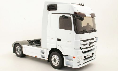 Mercedes Actros MP3, white, towing vehicle, Model Car, Ready-made, Eligor 1:18