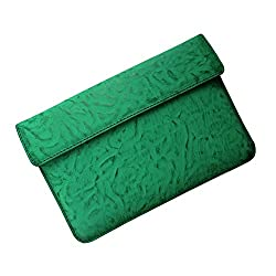 i-KitPit : PU Leather Pouch Case For iBall Slide i1017 (GREEN)