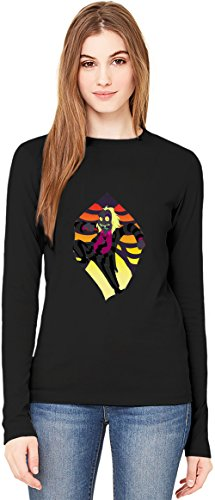 Best friends T-Shirt da Donna a Maniche Lunghe Long-Sleeve T-shirt For Women| 100% Premium Cotton Ultimate Comfort XX-Large