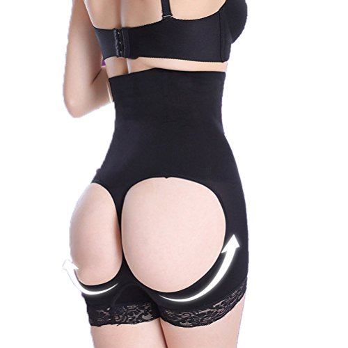 Laixing Buona Qualità Sexy Women High Waist Cincher Butt Lifter Corset Control Panties Shapewear #812