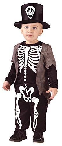 Baby-Toddler-Costume Happy Skeleton Toddler Costume 3T-4T Halloween Costume (Happy Skeleton Costume)