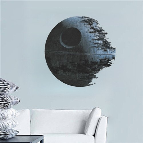 Star wars Death Star Wall Sticker by Perfect Charms
