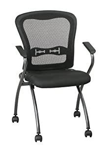 Office Star Pro-Line II ProGrid Back Deluxe Folding Chair