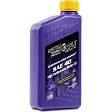 Royal Purple 01040 Heavy Duty SAE 40 High Performance Synthetic Motor Oil - 1 Quart Bottle