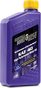 Royal Purple 01040 Heavy Duty SAE 40 High Performance Synthetic Motor Oil - 1 qt.