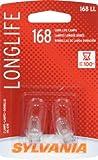 Sylvania 168LL Long Life Bulb - Pair