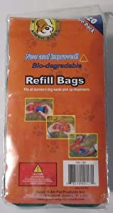 Good Habit Doggie Poop Refill Bags 120 Pack Green