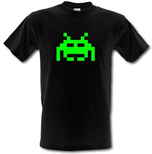 SPACE INVADERS Retro Arcade Gamer Gildan Heavy Cotton t-shirt