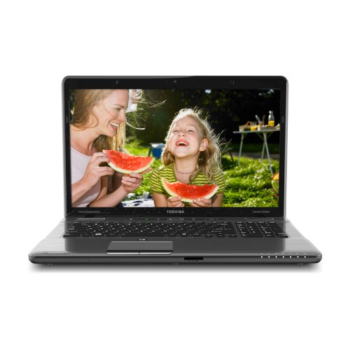 Toshiba Satellite P775-S7236 17.3-Inch LED Laptop (Black)
