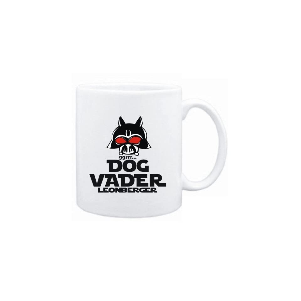 Mug White  DOG VADER  Leonberger  Dogs