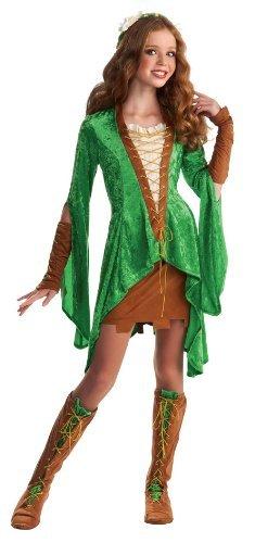Drama Queens Tween Maid Marion Costume - Tween Small (0- 2) (Tween Girl Halloween Costume Ideas)
