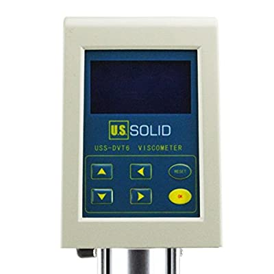 Digital Display Rotary Viscometer Viscosity Fluidimeter Tester