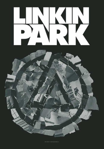 Linkin Park Bandiera - Pieced Together - Bandiera Poster 100% poliestere 75 x 110 cm