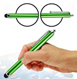 Wayzon Green High Capacitive Spongy End Touch Screen Stylus Pen Suitable For T-Mobile Pulse Mini / Vairy Text II / Touch II / Vibe E200 / Vivacity