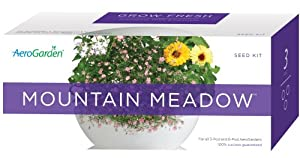 AeroGarden 800329-0200 3-Pod Seed Kit, Mountain Meadow Flowers (Discontinued by Manufacturer)