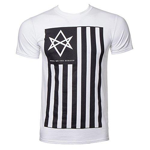 T Shirt Bring Me The Horizon Antivist (Bianco) - Small