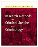 Research Methods for Criminal Justice and Criminology (with InfoTrac) (0534516645) by Maxfield, Michael G.