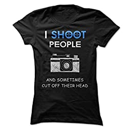 Photography Lovers Photography Shirts (Large;Black)