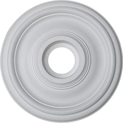 "Plano Ceiling Medallion, 18.5"" Diameter, Contemporary Style/Paintable Do-It-Yourself Home Decor from Henta Corporation"