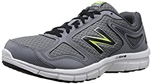 New Balance Men's M579 Running Shoe, Athletic Grey/Hi Lite, 11 D US