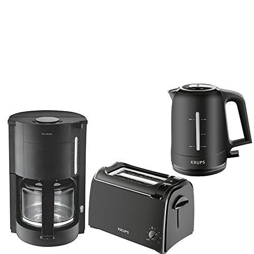 krups frühstücksserie proaroma im eleganten ~ Kaffeemaschine Heißbrühsystem