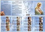 How to Say the Rosary Laminated Booklet - For Adults.