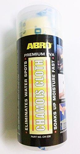 """ABRO-Panno in pelle di daino assorbe l'umidità rapidamente), CH-330 43,18 cm (17"""") 33,02 (13 cm x 43 x 32 cm"""