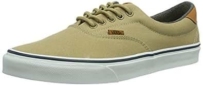 Vans U Era 59, Baskets mode mixte adulte - Vert (Khaki/Washed), 34.5 EU