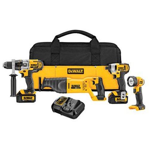 DEWALT-DCK490L2-20-Volt-MAX-Li-Ion-30-Ah-4-Tool-Combo-Kit