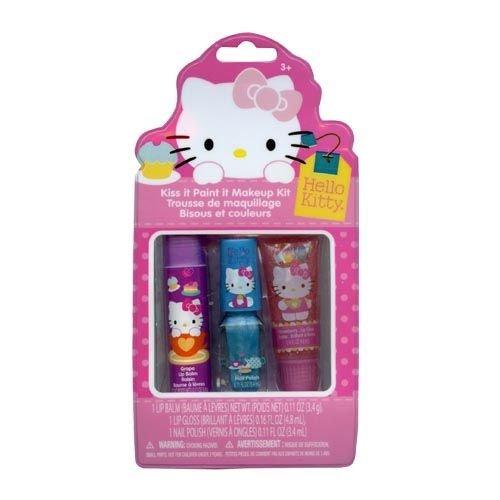 Hello Kitty Kiss It Paint It Makeup Kit Gift Set - 1