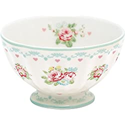 GreenGate Schüssel - French Bowl - Abelone White - Medium