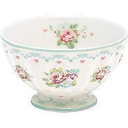 GreenGate Schüssel - French Bowl - Abelone White - Medium