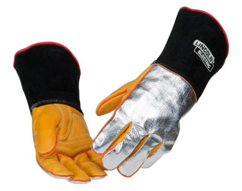 Lincoln Electric K2982 Heat-Resistant Welding Gloves Large - X-Large