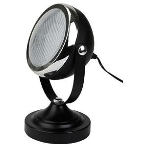 Faro reflector redondo - faro de estilo retro - lámpara de mesa de estudio industrial - 2 colores