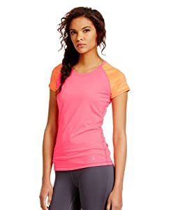 Under Armour Women's HeatGear® Sonic Raglan Printed Short Sleeve