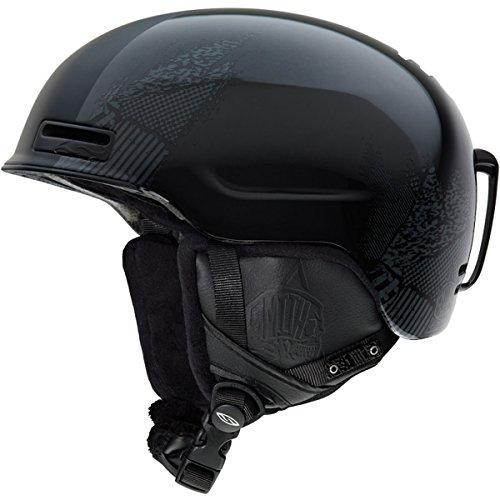 Smith Optics Maze Helmet (Medium/55-59-Cm, Impossibly Black)