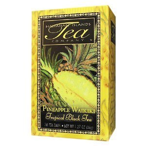 Save $$---6 Boxes Of Pineapple Waikiki Black Tea---20 Tea Bags Per Box---Makes A Great Gift