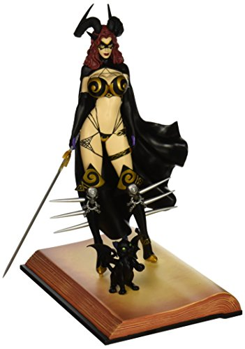 Tarot Witch Of The Black Rose Femme Fatales Pvc Statua Statue Tarot Verion 2 23 Cm Diamond Select