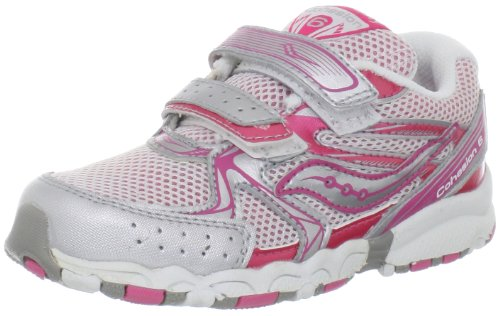 Saucony Girls Baby Cohesion H&L Running Shoe Toddler