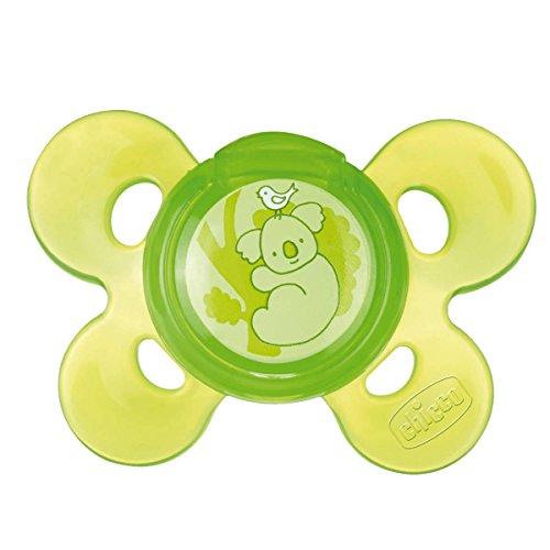 Chicco 72815310000 Physio Comfort Succhietto Neutro, Silicone, 12 Mesi+, Verde