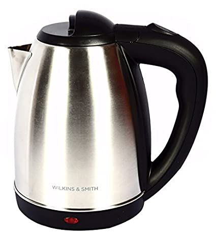 Wilkins-&-Smith-Stainless-Steel-Cordless-Electric-Kettle,-1.8-Litres,-Silver-&-Black