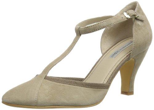 Tosca Blu Shoes CYAN, Scarpe col tacco donna, Beige (Beige (TORTORA C76)), 39