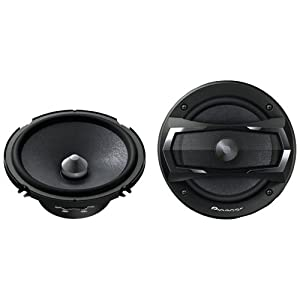 """Pioneer TS-A1605C 6-1/2"""" 2-Way TS Series Component Car Speakers System"""