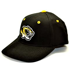 Buy NCAA Missouri Tigers Child One-Fit Hat, Black by Top of the World