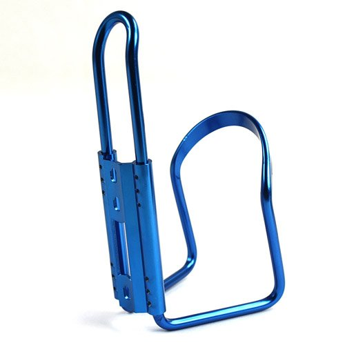 Water Bottle Holder and Adapter for Bike Bicycle Blue