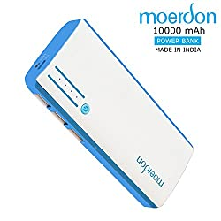 MOERDON Power Bank 10000mAh Battery Charger,Portable Charger Backup Pack For iPhone 6s 6 Plus Samsung Gionee Intex Sony and Other