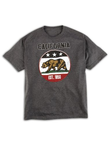 California Flag Big & Tall Short Sleeve Graphic T-Shirt