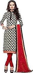 Vastrakosh Women's Silk Cotton Unstitched Dress Material (Vastra_6_Multicoloured_38)